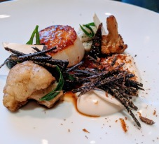 Dinner by Heston Blumenthal sherried scallop