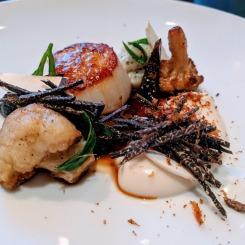 Dinner by Heston Blumenthal sherried scallop