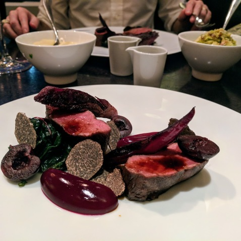 Dinner by Heston Blumenthal venison
