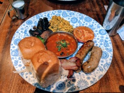 Big Bombay Breakfast at Dishoom Soho, London