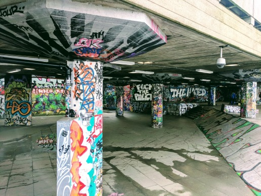 London South Bank Skate Park