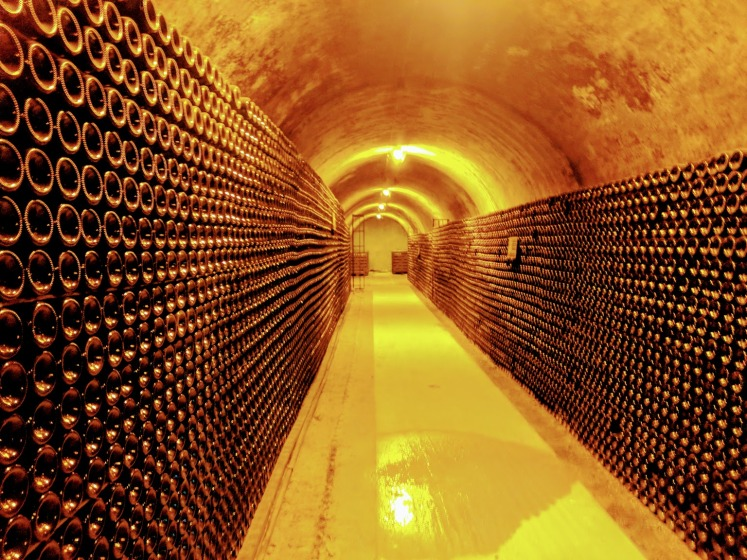 Champagne tunnel