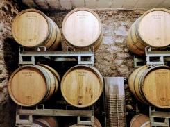 Ernest Remy Champagne barrels