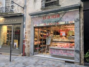 Le Marais Paris Jewish butcher