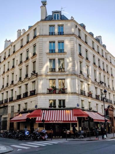 Le Marais Parisian restaurant