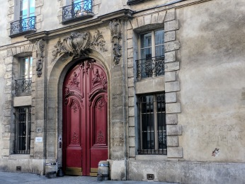 Le Marais Paris door