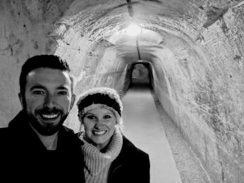 Taittinger Champagne Cellar tunnels