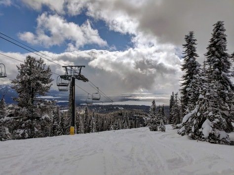 Brundage Mountain Lake View Bowl