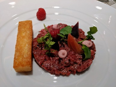 Crystal Debussy Beef Tartare