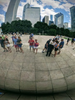Cloud Gate Selfie