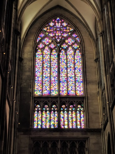 Cologne cathedral modern window