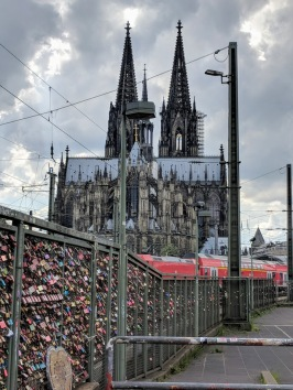 Cologne - locks and spires