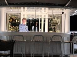 Crystal Debussy - bartender Wes