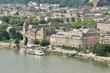 Koblenz from Ehrenbreitstein Fortress 2