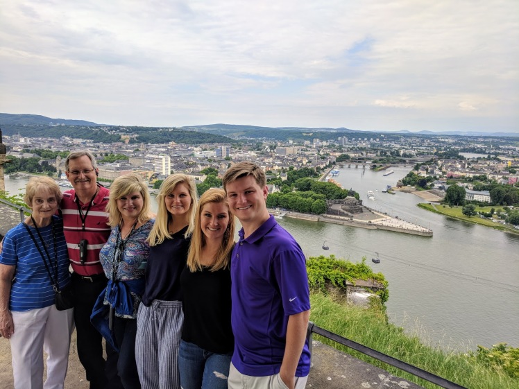 Koblenz - German Corner whole family