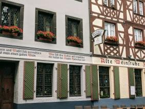 Koblenz shop facades