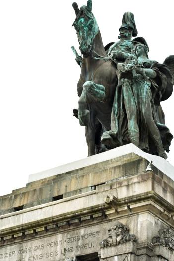 Koblenz - Wilhelm statue 2