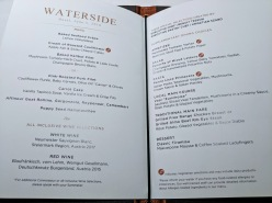 Crystal Debussy Sample Dinner Menu