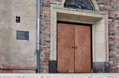 Rudesheim - church doors