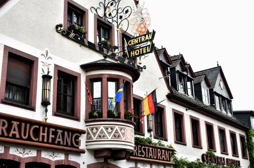 Rudesheim - hotel restaurant