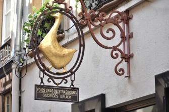 Strasbourg Foie Gras sign