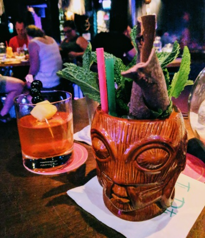 Three Dots And A Dash tiki bar