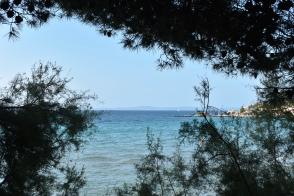 Bacvice Beach empty morning - Split, Croatia
