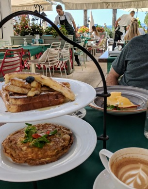 Two tier breakfast, Brasserie on 7 - Split, Croatia