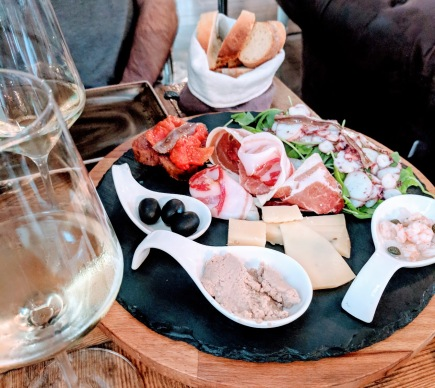 Diocletian's Wine House snack board - Split, Croatia
