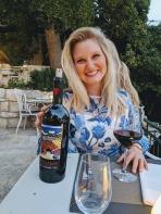 Azure Rebellion wine at Dvor - Split, Croatia