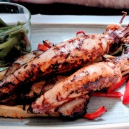 Grilled Squid, Apetit - Split, Croatia