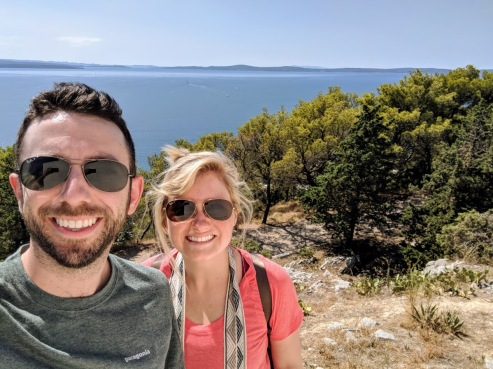 Marjan Hill hike selfie - Split, Croatia