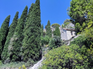 Marjan Hill Hike, cliff side house - Split, Croatia