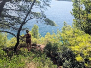 Marjan Hill hike views - Split, Croatia