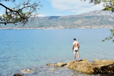 Marjan Hill hike, swim spot - Split, Croatia