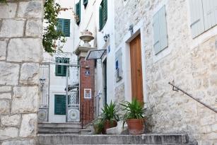 Diocletian's Palace doorway - Split, Croatia