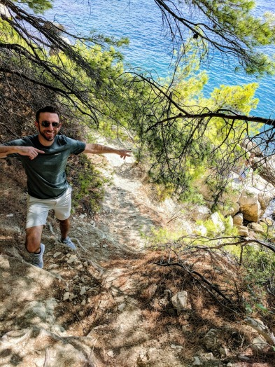 Marjan Hill hike, secret beach route - Split, Croatia
