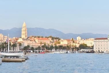 Split views from the promenade - Split, Croatia