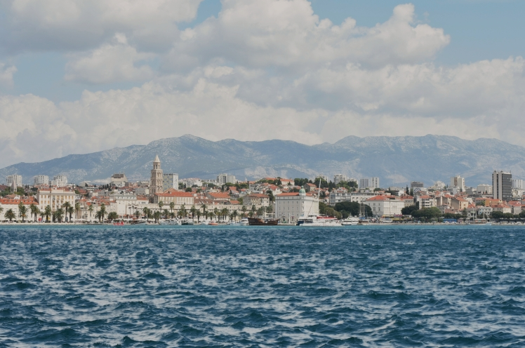 View of Split's Riva promenade - Split, Croatia