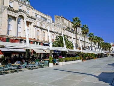 Split's Riva Street main promenade - Split, Croatia