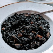 Squid Ink risotto, Apetit - Split, Croatia