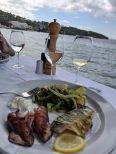 Lunch at Obala on Lopud Island in Elaphiti Islands Croatia