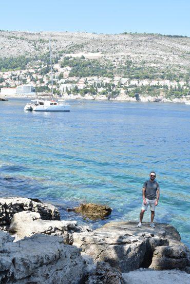 Swim spot on Lokrum Island Croatia