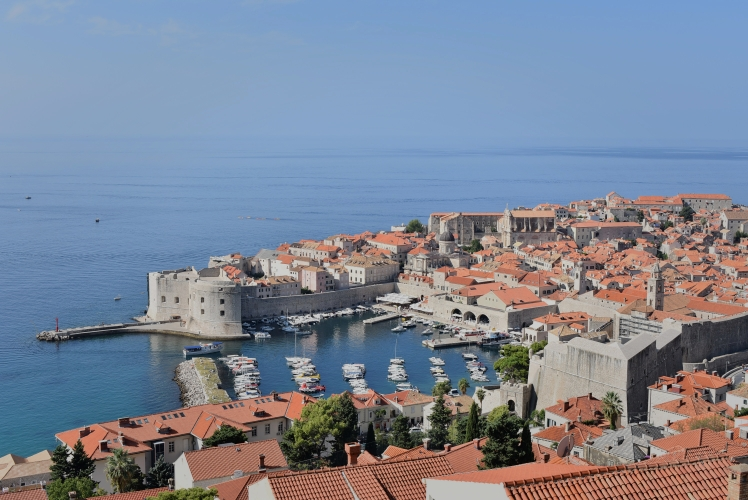 Dubrovnik Old town mid day