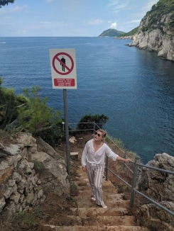 Walk around Kolocep Island during Dubrovnik Boat Rentals day trip Croatia