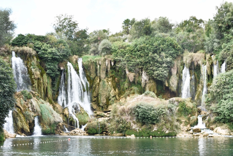Kravice Falls in Bosnia Hertzegovinia