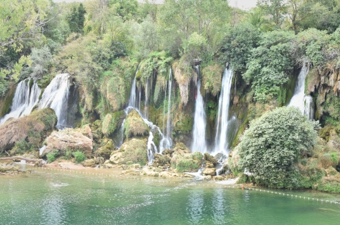 Kravice Falls Bosnia hertzegovina