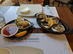 Oysters at Bota sushi bar Dubrovnik Croatia