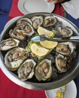 Oysters for lunch in Mali Ston Croatia