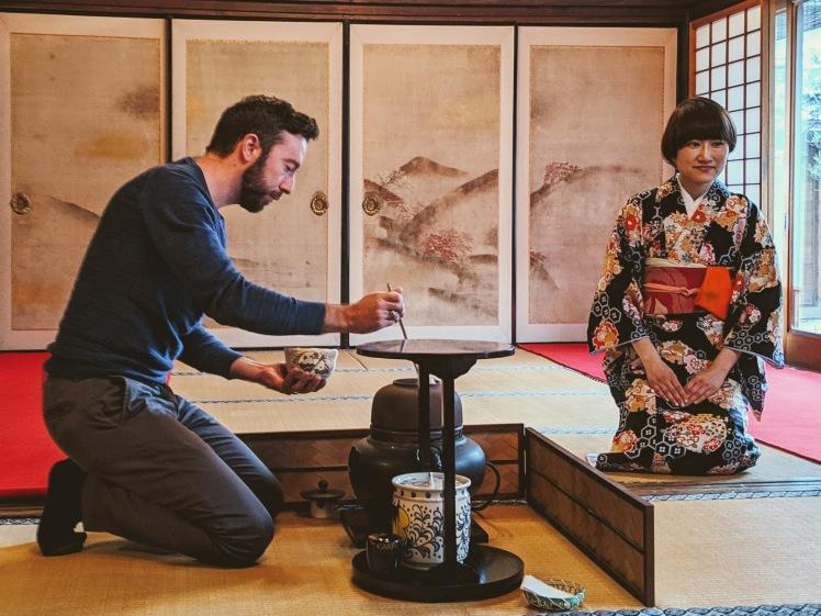 Ju-an Tea ceremony Kyoto Japan